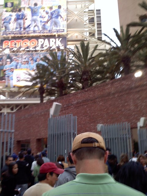 LA Dodgers at San Diego Padres